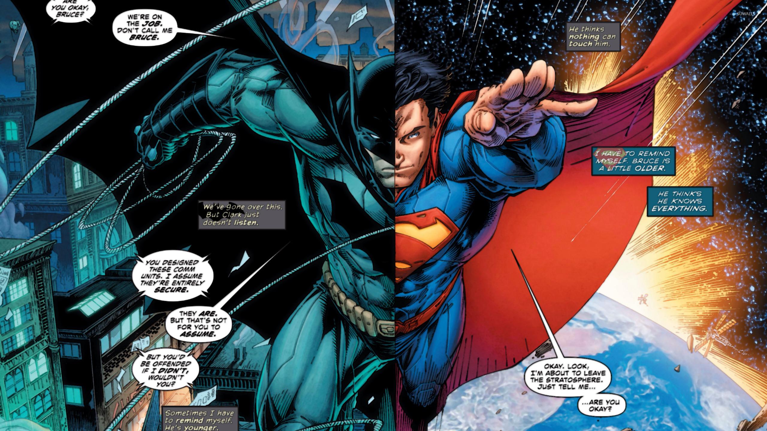 batman and superman cartoon wallpaper - photo #31