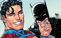 Superman and Batman Selfie wallpaper 2560x1440 jpg