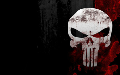 The Punisher skull wallpaper