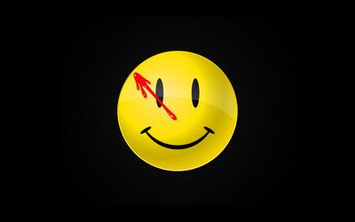 Watchmen smiley wallpaper
