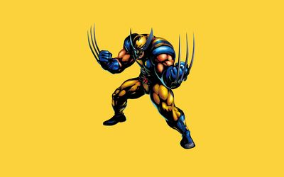 Wolverine ready for a fight wallpaper