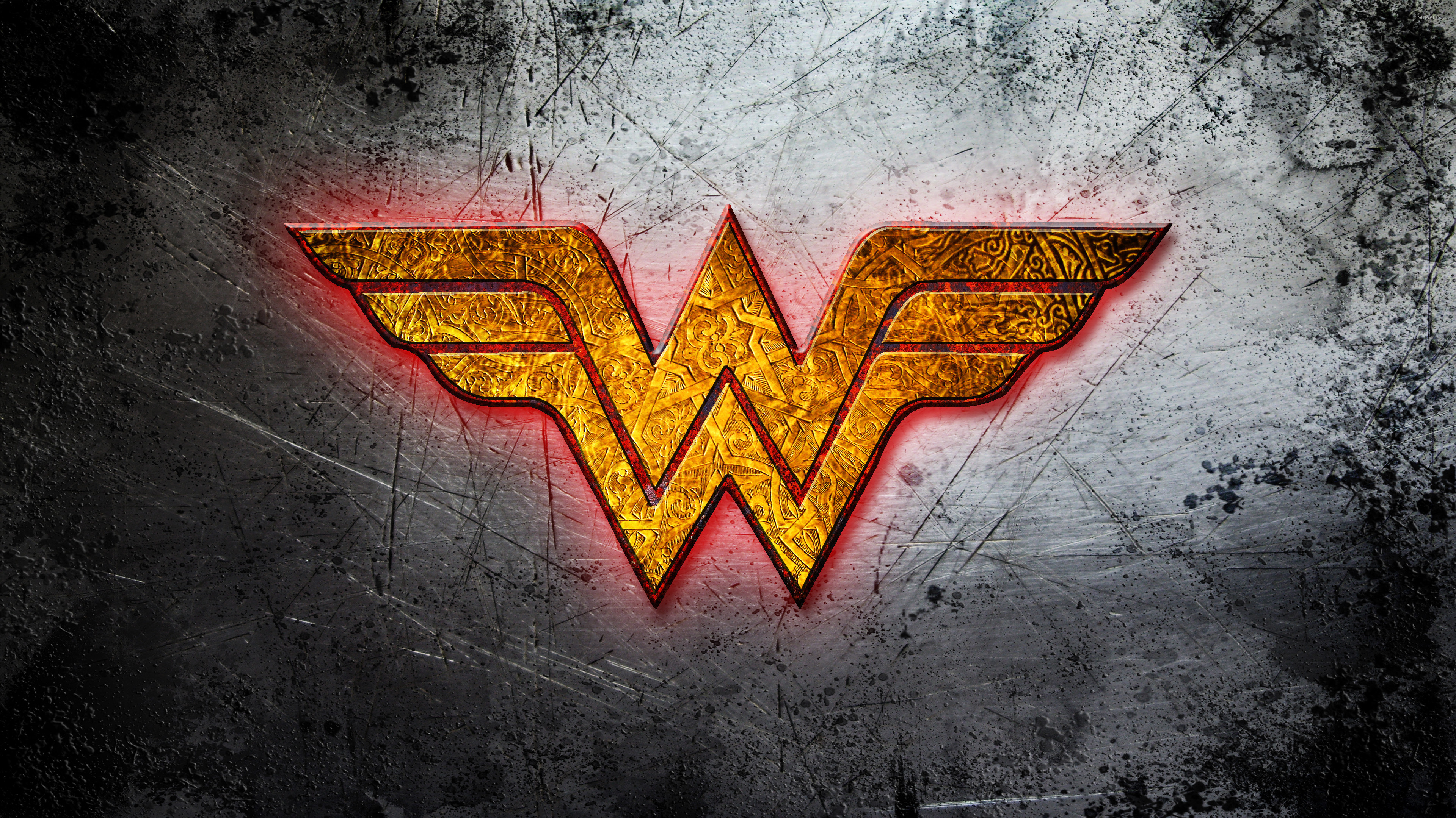 Wonder Woman golden logo wallpaper Comic wallpapers 50697