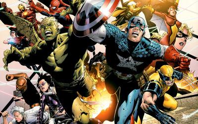 Young Avengers wallpaper