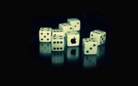 Apple dice wallpaper 1920x1200 jpg
