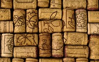 Apple logo on wine corks wallpaper 2560x1600 jpg