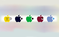 Apple logos [3] wallpaper 1920x1200 jpg