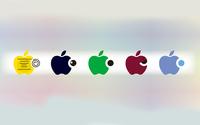 Apple logos [3] wallpaper 1920x1200 jpg