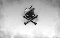 Apple skull wallpaper 1920x1200 jpg