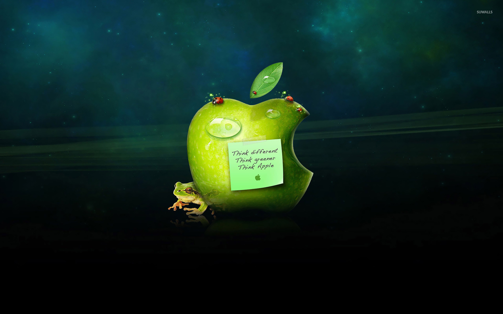 apple - think different wallpaper - computer wallpapers - #18098