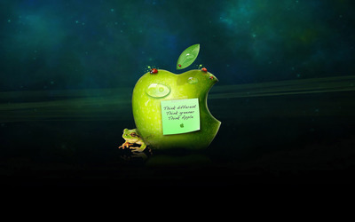 Apple - Think different wallpaper