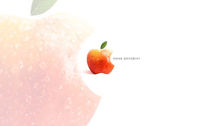 Apple - Think different [2] wallpaper
