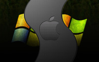Apple vs Windows wallpaper 1920x1200 jpg