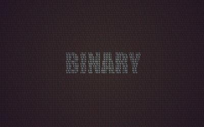 Binary writing wallpaper