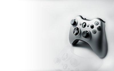 Black game controller wallpaper