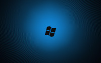 Black Windows logo wallpaper 1920x1200 jpg