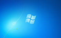 Blue Windows 7 logo wallpaper 1920x1200 jpg