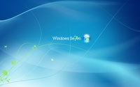 Blue Windows 7 logo [2] wallpaper 1920x1080 jpg