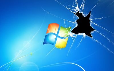 Broken Glass Windows wallpaper