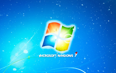 Christmas with Windows 7 wallpaper