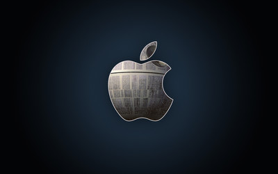 Death Star Apple wallpaper