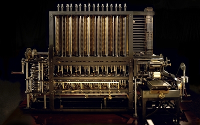 Difference engine wallpaper