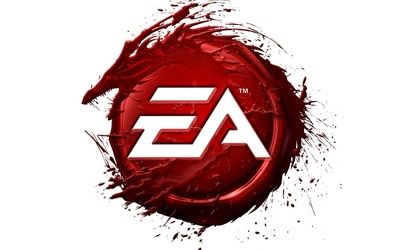 Electronic Arts red logo wallpaper