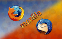 Firefox and Thunderbird wallpaper 2880x1800 jpg