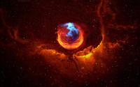 Firefox Nebula wallpaper 1920x1200 jpg