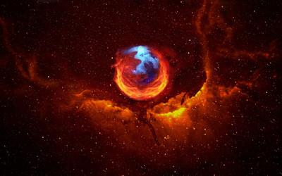 Firefox Nebula wallpaper