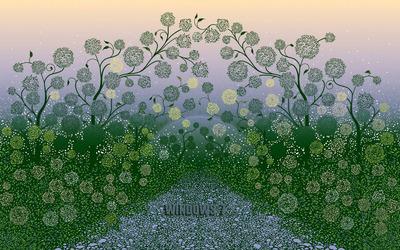 Floral Windows 7 wallpaper
