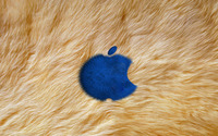 Fur Apple logo wallpaper 1920x1200 jpg