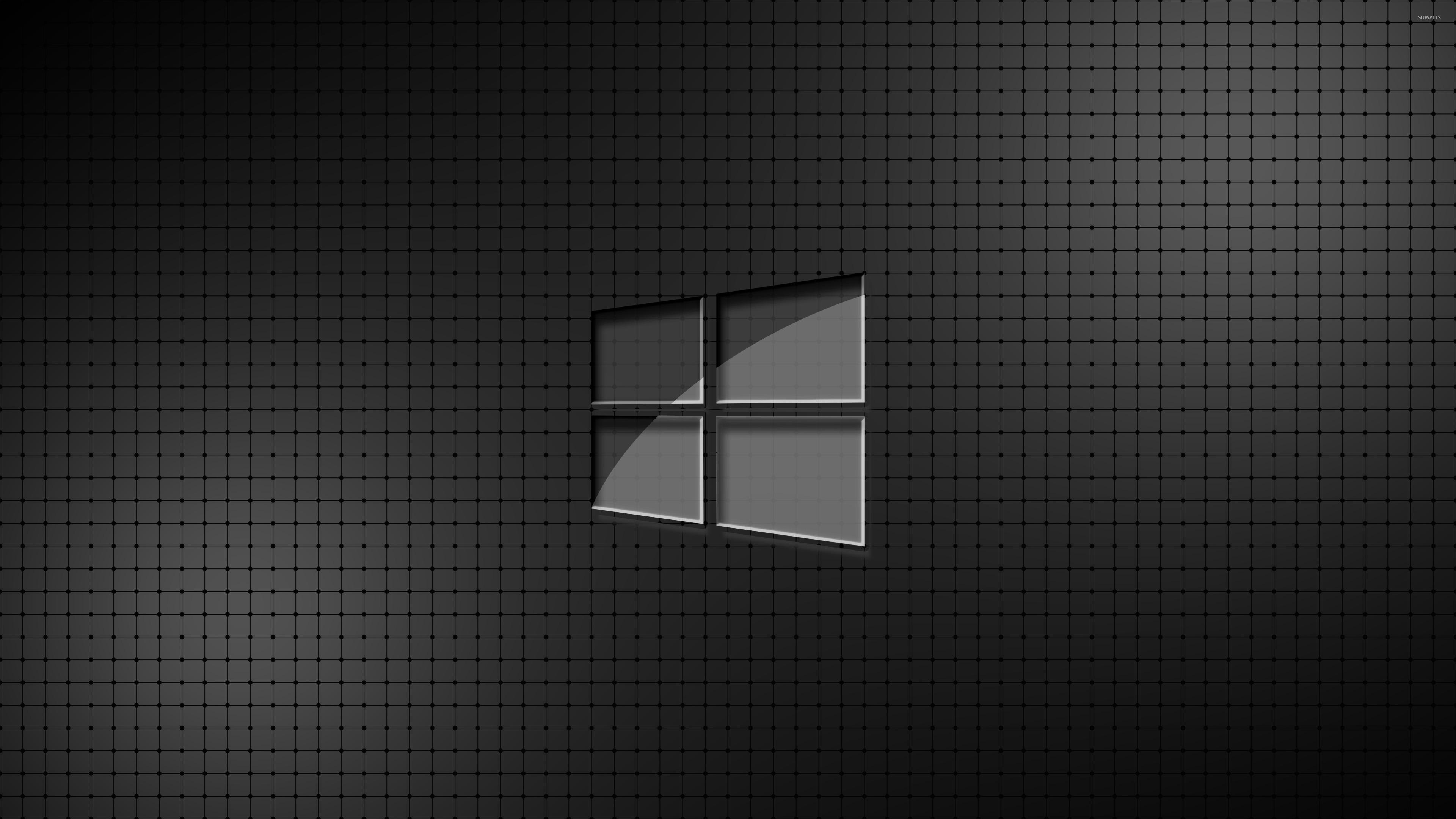 Glass Windows 10 Wallpaper : Glass windows on a grid wallpaper computer wallpapers