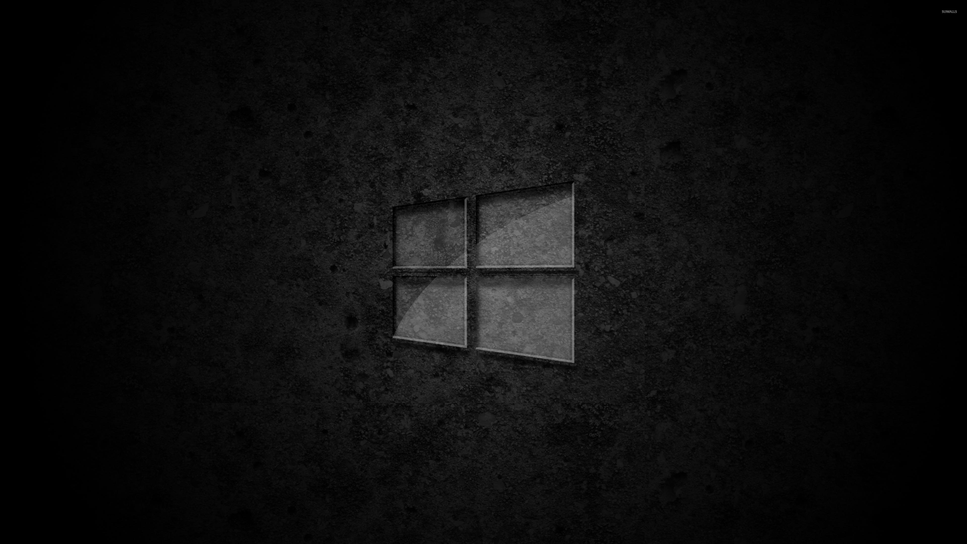 Glass Windows 10 Wallpaper : Glass windows on concrete wallpaper computer