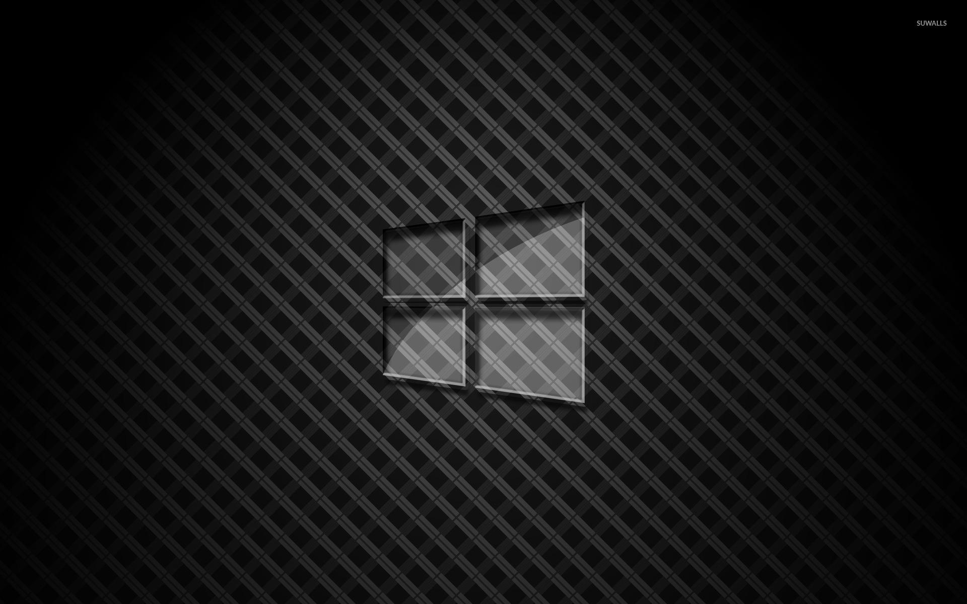 Glass Windows 10 Wallpaper : Glass windows on square pattern wallpaper