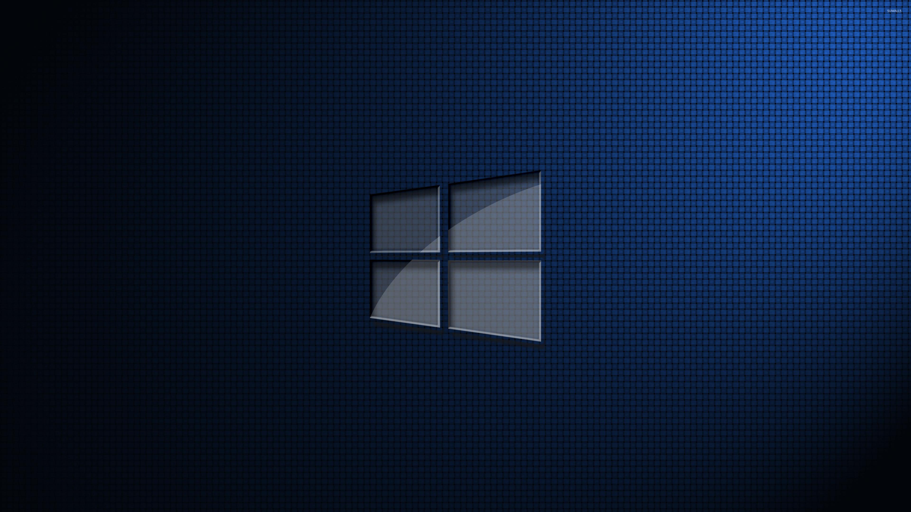 Glass Windows 10 Wallpaper : Glass windows on square pattern wallpaper computer