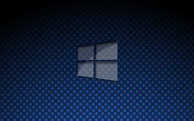 Glass Windows 10 on square pattern [3] wallpaper