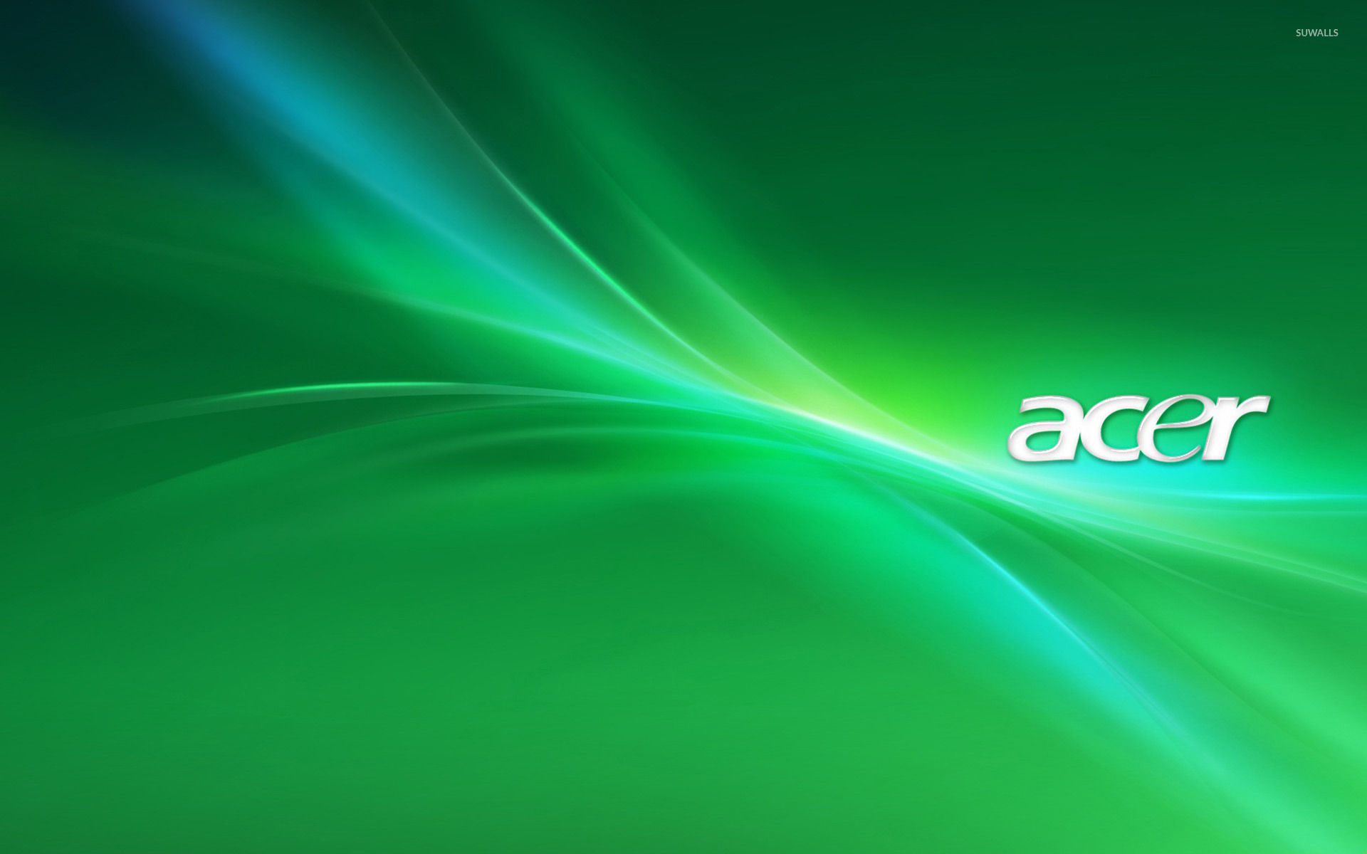 green acer logo wallpaper computer wallpapers 17735