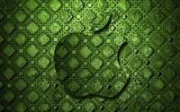 Green Apple logo wallpaper 2560x1600 jpg