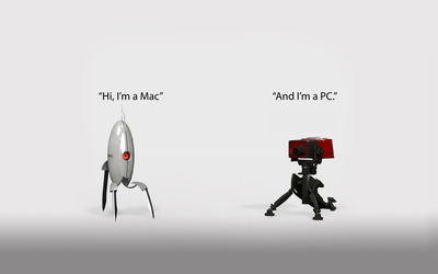 Portal Mac and PC wallpaper