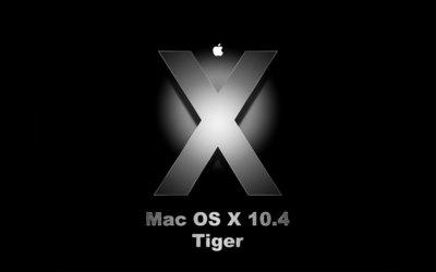 Mac OS X Tiger wallpaper
