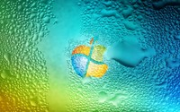 Merged Windows 7 and Apple wallpaper 1920x1200 jpg