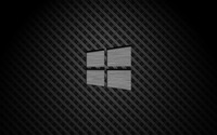 Metal Windows 10 on square pattern wallpaper 3840x2160 jpg