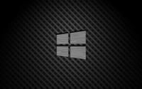 Metal Windows 10 on square pattern wallpaper 3840x2160 jpg