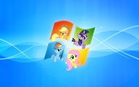 My Little Pony inside Windows wallpaper 1920x1080 jpg