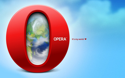 Opera - It's my world wallpaper
