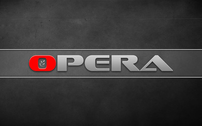 Opera logo [2] wallpaper