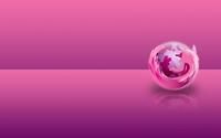 Pink Mozilla Firefox wallpaper 1920x1200 jpg
