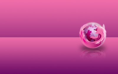 Pink Mozilla Firefox wallpaper