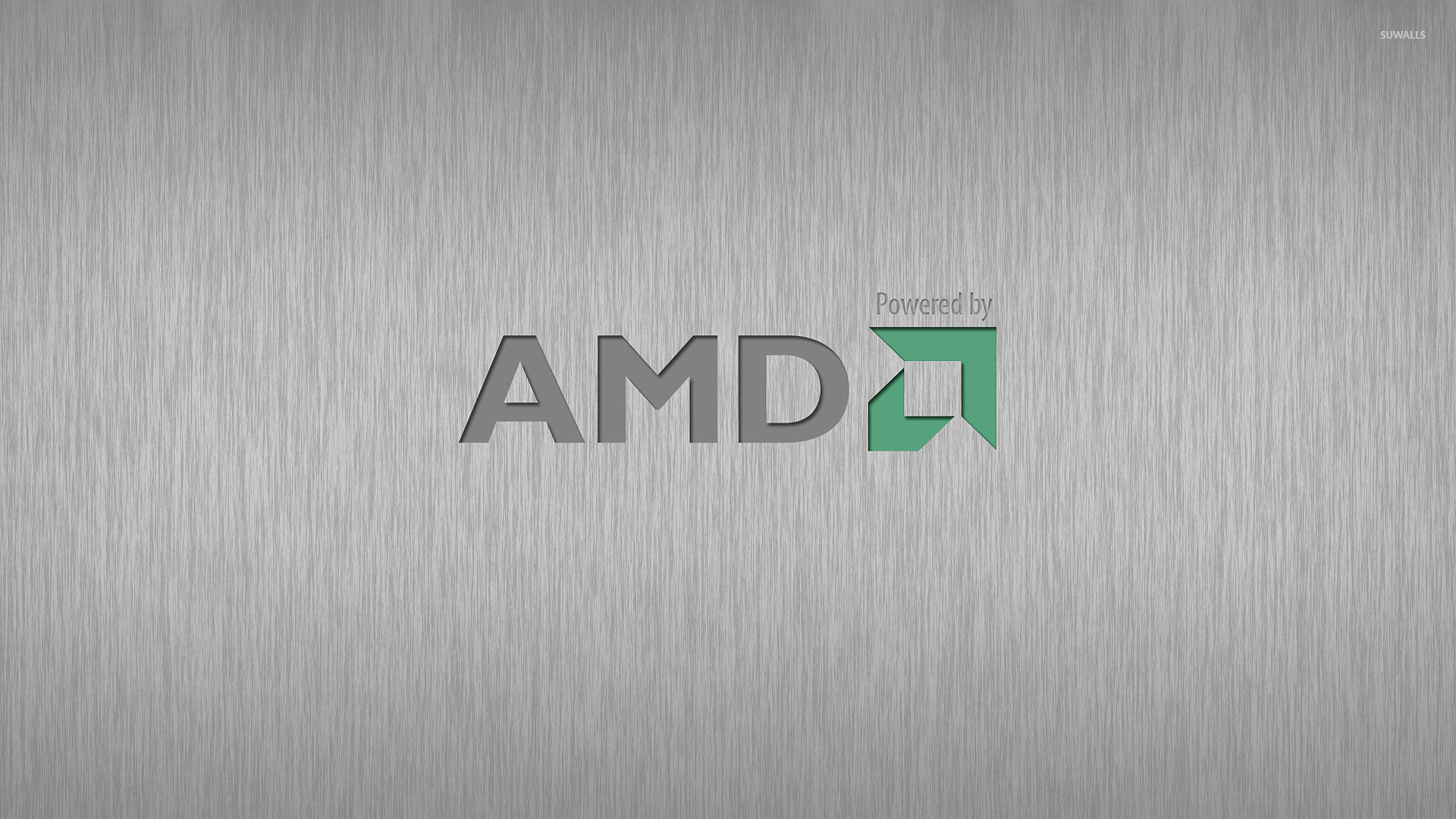 Powered By AMD Wallpaper