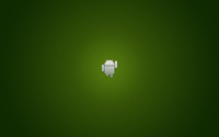Silver Android running wallpaper 2560x1600 jpg